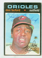 Don Buford AUTOGRAPH 1971 Topps #29 Orioles     [SKU:BufoD1786_T71BB]