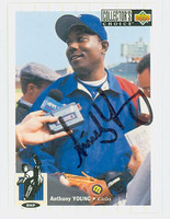 Anthony Young AUTOGRAPH 1994 Upper Deck Cubs   [SKU:YounA13927_UD94BB]