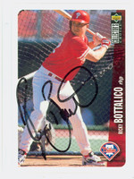Ricky Bottalico AUTOGRAPH 1996 Upper Deck Phillies 