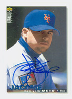 Jason Jacome AUTOGRAPH 1995 Upper Deck Mets 