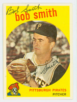 Bob Smith AUTOGRAPH d.03 1959 Topps #83 Pirates CARD IS SHARP NM/MT