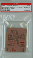 1966 New York Knicks Ticket Stub vs Philadelphia Warriors Rick Barry scored 47 points - December 6, 1966 PSA/DNA Authentic