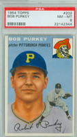 1954 Topps Baseball 202 Bob Purkey