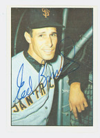 Eddie Bressoud AUTOGRAPH 1978 TCMA The Sixties Giants 