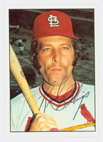 Dick Billings AUTOGRAPH 1975 SSPC Cardinals 