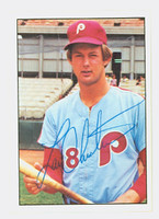 Larry Christenson AUTOGRAPH 1975 SSPC Phillies 