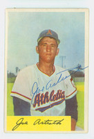 Joe Astroth AUTOGRAPH d.13 1954 Bowman #131 Athletics CARD IS EX