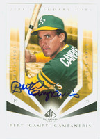Bert Campaneris AUTOGRAPH 2004 Upper Deck SP Legendary Cuts Athletics 