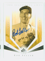 Bob Feller AUTOGRAPH d.10 2004 Upper Deck SP Legendary Cuts Indians 