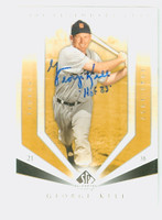 George Kell AUTOGRAPH d.09 2004 Upper Deck SP Legendary Cuts Tigers 
