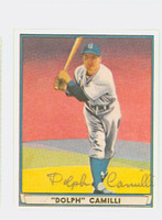 Dolph Camilli AUTOGRAPH d.97 Pre-War Reprints 1941 Play Ball Dodgers 