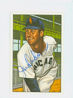 Joe Dobson AUTOGRAPH d.94 1952 Bowman Reprints White Sox 