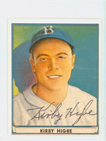 Kirby Higbe AUTOGRAPH d.85 Pre-War Reprints 1941 Play Ball Dodgers 