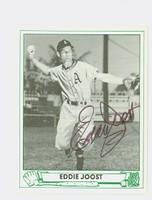 Eddie Joost AUTOGRAPH d.11 TCMA 1947 Play Ball Reprint Athletics 