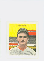 Red Lucas AUTOGRAPH d.86 Pre-War Reprints 1933 Tattoo Orbit Reds 