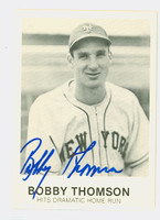 Bobby Thomson AUTOGRAPH d.10 Galasso Giants 