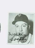 Walker Cooper AUTOGRAPH d.91 1976 Phila. Card Show Giants 