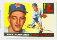 1955 Topps Baseball 18 Russ Kemmerer Boston Red Sox Good to Very Good