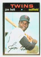 1971 Topps Baseball 7 Jim Holt Minnesota Twins Near-Mint