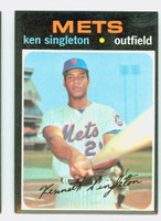 1971 Topps Baseball 16 Ken Singleton ROOKIE New York Mets Near-Mint
