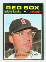 1971 Topps Baseball 31 Eddie Kasko Boston Red Sox Near-Mint
