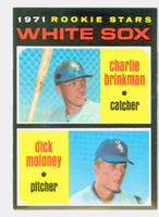 1971 Topps Baseball 13 White Sox Rookies Near-Mint Plus