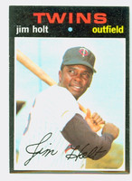 1971 Topps Baseball 7 Jim Holt Minnesota Twins Near-Mint to Mint