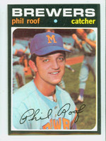 1971 Topps Baseball 22 Phil Roof Milwaukee Brewers Near-Mint to Mint