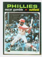 1971 Topps Baseball 23 Oscar Gamble Philadelphia Phillies Near-Mint to Mint