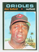 1971 Topps Baseball 29 Don Buford Baltimore Orioles Near-Mint to Mint