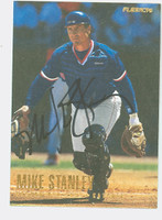Mike Stanley AUTOGRAPH 1996 Fleer Red Sox 