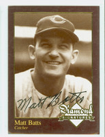 Matt Batts AUTOGRAPH d.13 Diamond SIgnatures 