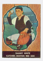 Sammy White AUTOGRAPH d.91 1958 Hires Root Beer Red Sox  [SKU:WhitS1194_COLLHC]