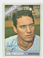 Jim Fregosi AUTOGRAPH d.14 1966 Topps #5 Angels CARD IS F/G