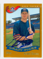 Gabe Gross AUTOGRAPH 2002 Topps Blue Jays 