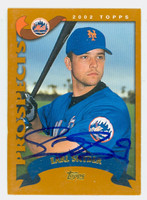 Earl Snyder AUTOGRAPH 2002 Topps Mets 