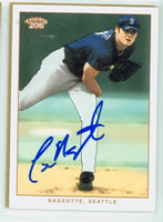 Clint Nageotte AUTOGRAPH 2002 Topps T206 Mariners 