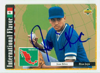 Jose Silva AUTOGRAPH 1994 Upper Deck International Flavor Dunedin Blue Jays 