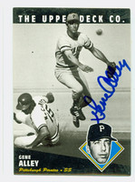 Gene Alley AUTOGRAPH 1994 Upper Deck Heroes Pirates 