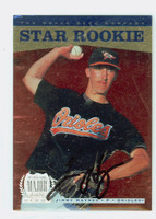 Jimmy Haynes AUTOGRAPH 1996 Upper Deck Star Rookie Orioles 