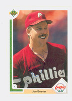 Joe Boever AUTOGRAPH 1991 Upper Deck Phillies 