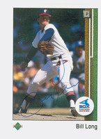 Bill Long AUTOGRAPH 1989 Upper Deck White Sox 