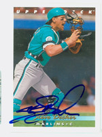 Steve Decker AUTOGRAPH 1993 Upper Deck Marlins 