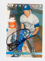 Randy Knorr AUTOGRAPH 1993 Upper Deck Blue Jays 