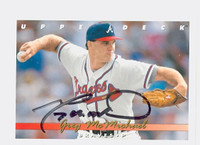 Greg McMichael AUTOGRAPH 1993 Upper Deck Braves 