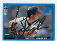 Tim Salmon AUTOGRAPH 1995 Upper Deck Collectors Choice Special Edition Angels 