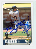 Gabe Alvarez AUTOGRAPH 1999 Upper Deck Collectors Choice Tigers 