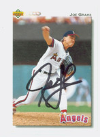 Joe Grahe AUTOGRAPH 1992 Upper Deck Angels 