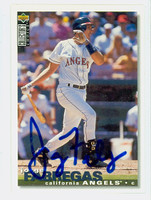 Jorge Fabregas AUTOGRAPH 1995 Upper Deck Collectors Choice Angels 