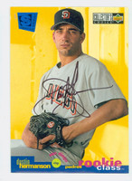 Dustin Hermanson AUTOGRAPH 1995 Upper Deck Collectors Choice Special Edition Padres 